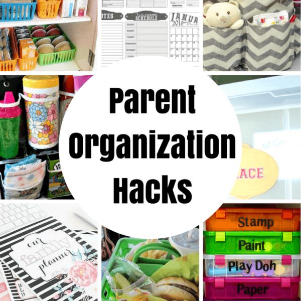 Parent Organization Hacks featured on Princess Pinky GIrl