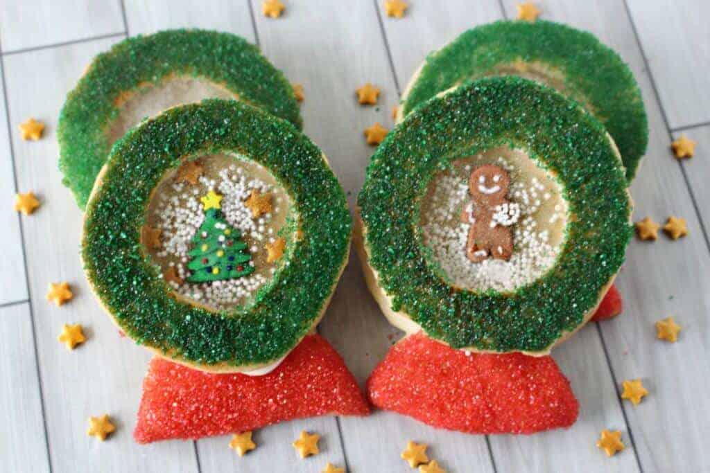 Snow Globe Christmas Cookies