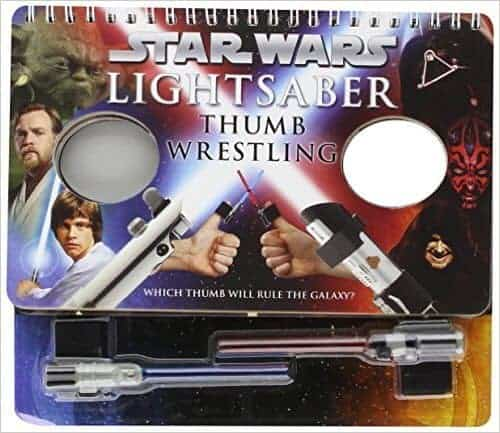 Star Wars Lightsaber Thumbprint Wars Game | Star Wars Crafts, Recipes and Gift Ideas