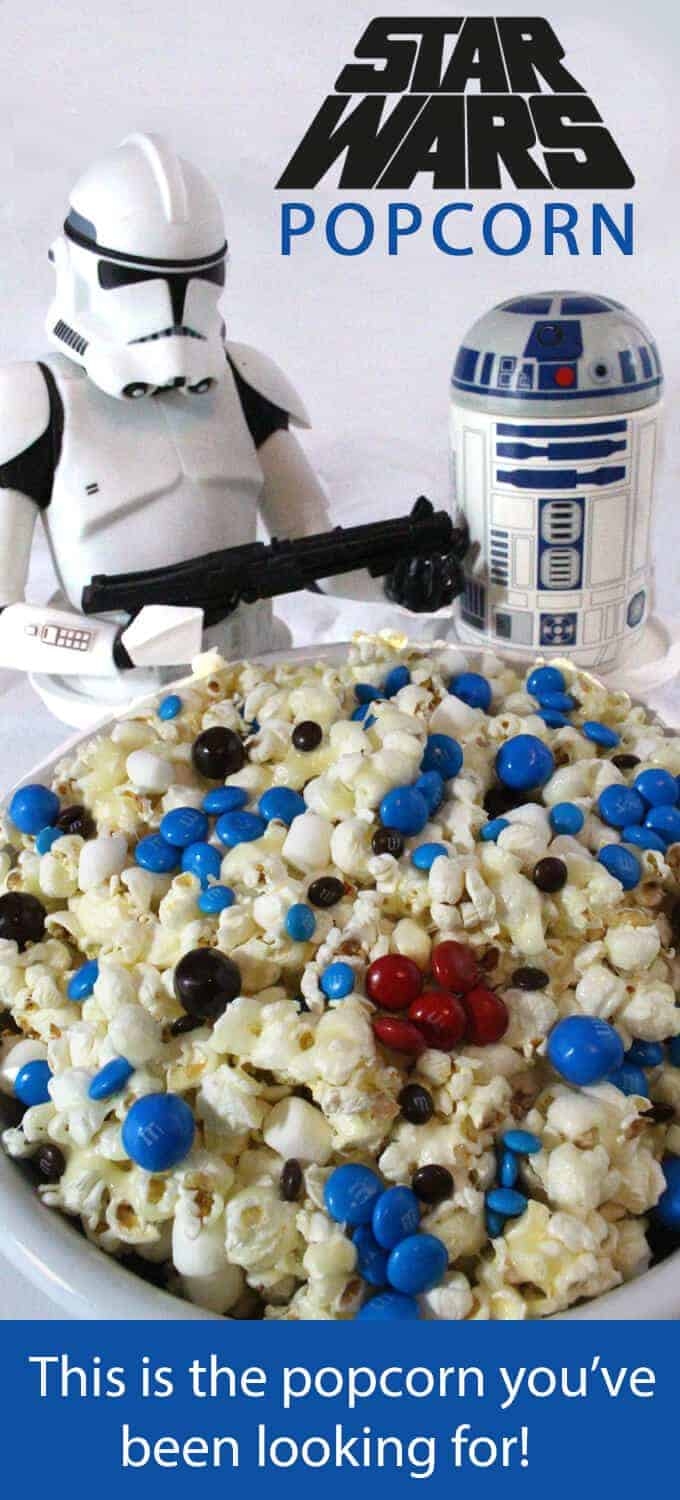 Star Wars Popcorn by Two Sisters Crafting | Star Wars Crafts, Recipes and Gift Ideas