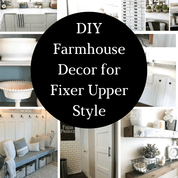 Diy farmhouse decor projects for the fixer upper look for Fixer upper christmas special 2017