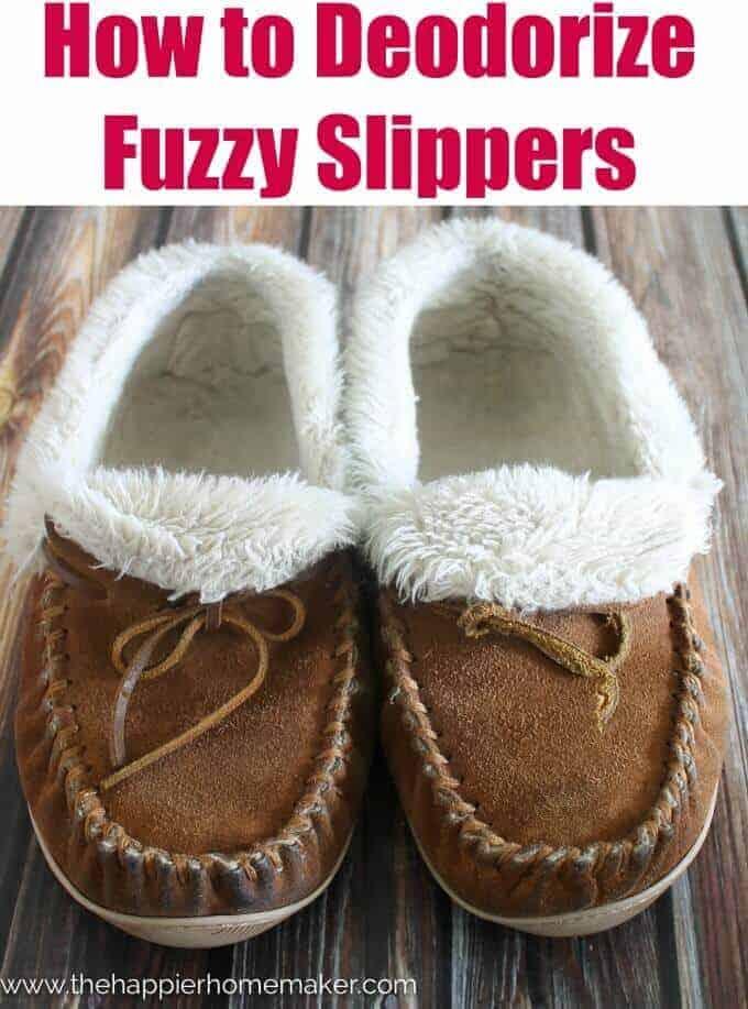 How to Deodorize Fuzzy Slippers | Winning Winter Weather Hacks