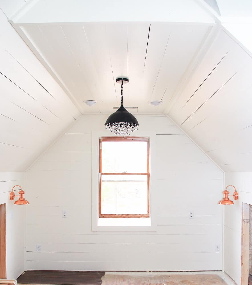 Industrial Attic Lighting by Unskinny Boppy | 12 Chic Industrial Decor Ideas for the Home