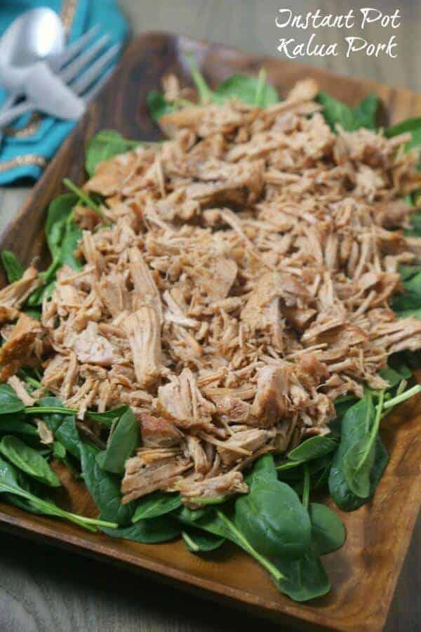 Instant Pot Kalua Pork by Cooking in Stilettos | 12 Favorite Instapot Recipes