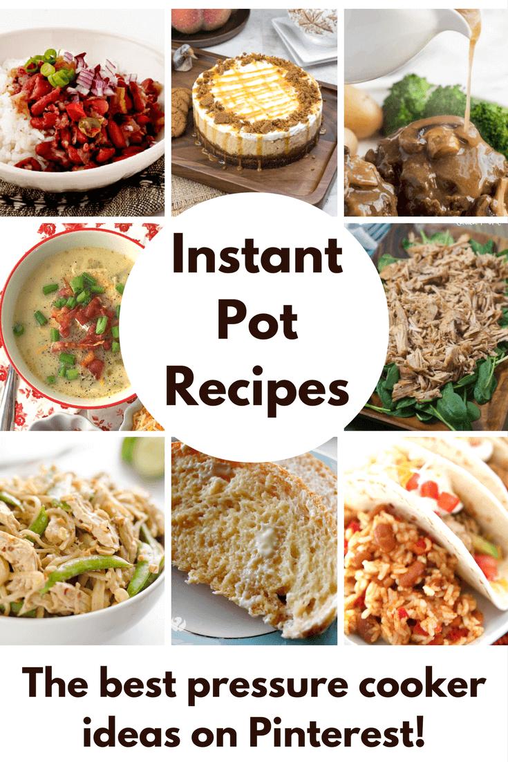 Favorite Instapot Recipes