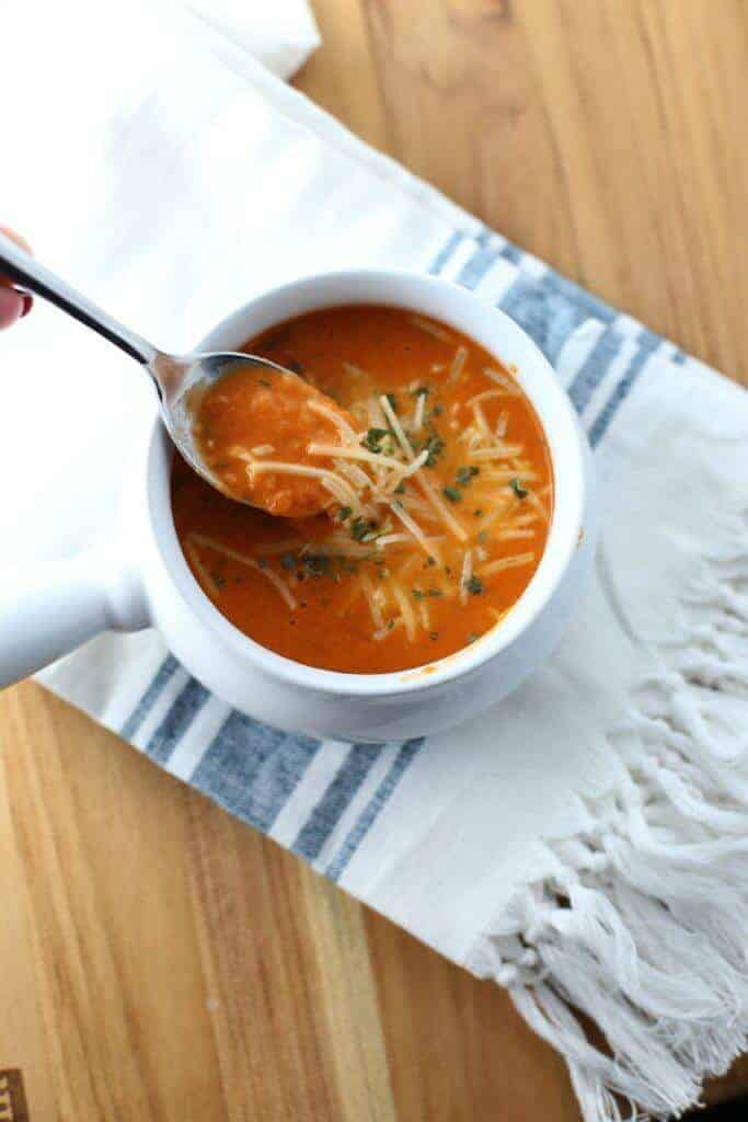 Instant Pot Tomato Soup by The Taylor House | 12 Favorite Instant Pot Recipes