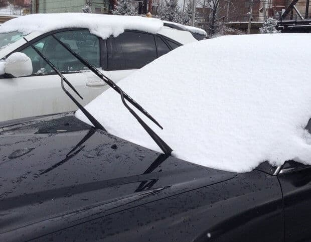 Lift Windshield WIpers Before it Snows via Cleveland.com | 12 Winning Winter Weather Hacks