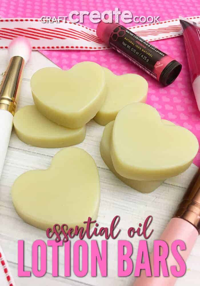 Essential Oil Lavender Lotion Bars