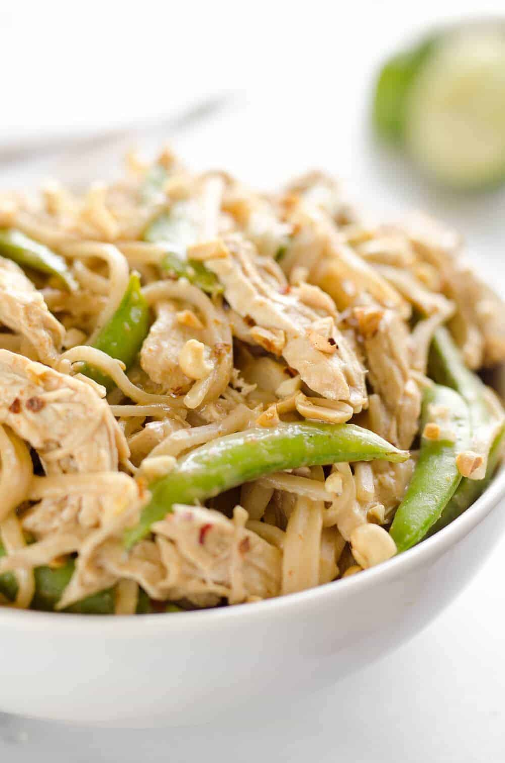 Pressure Cooker Tai Peanut Chicken Noodles | 12 Favorite Instapot Recipes