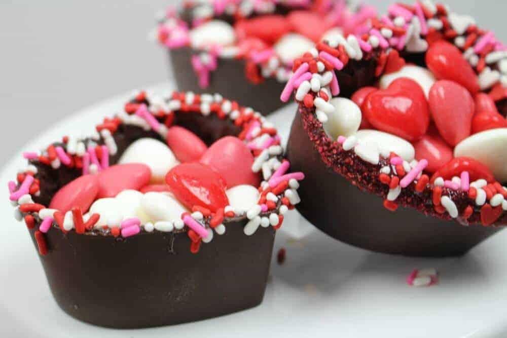 Valentine S Day Chocolate Heart Bowl Princess Pinky Girl