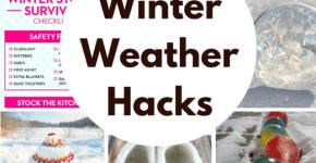 Winning Winter Weather Hacks   Princess Pinky Girl