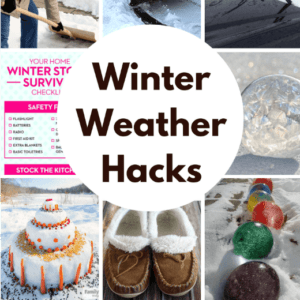 Winning Winter Weather Hacks
