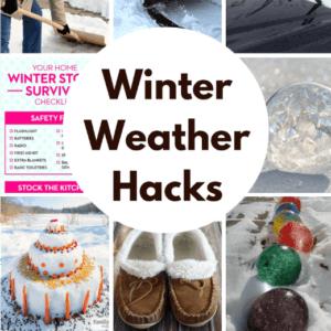 Winning Winter Weather Hacks