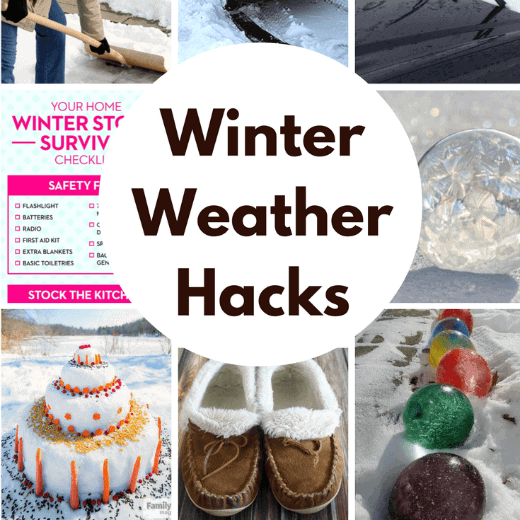 Winning Winter Weather Hacks | Princess Pinky Girl