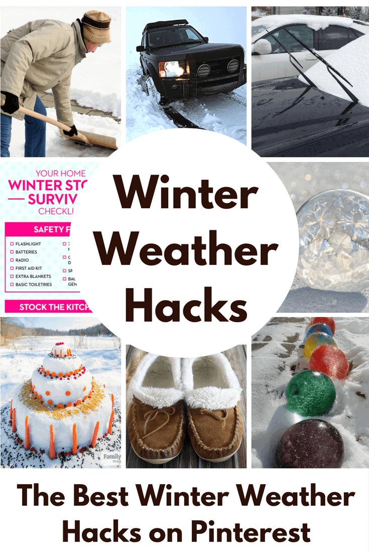 Winning Winter Weather Hacks | Princess Pinky Girl