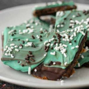 Chocolate Mint Graham Cracker Crunch