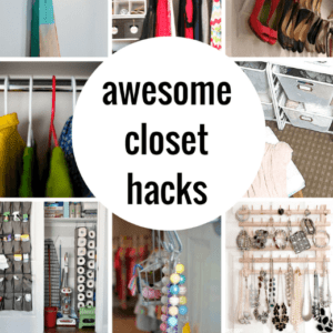 Smart Closet Organization and Hack Ideas