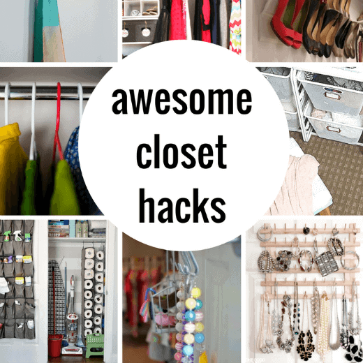 So smart! These closet organization and hack ideas are going to really transform your life!