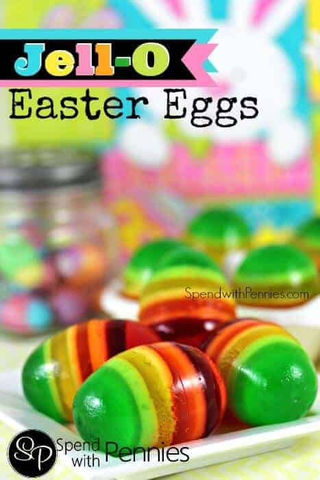 Jello Easter Eggs by Spend with Pennies | The Coolest Easter Egg Ideas