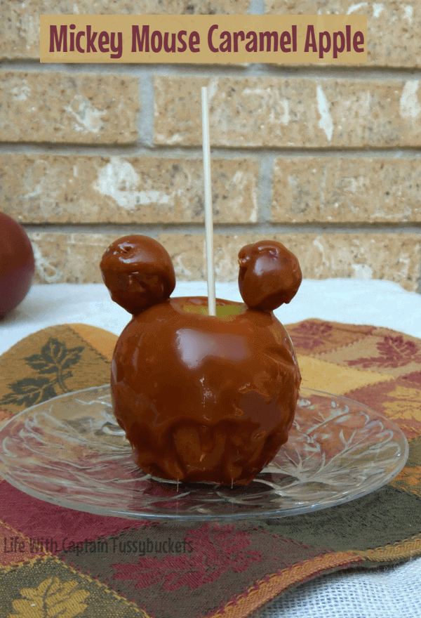 Mickey Mouse Caramel Apples by Ginger Casa | Mickey Mouse Ideas that are so cute!