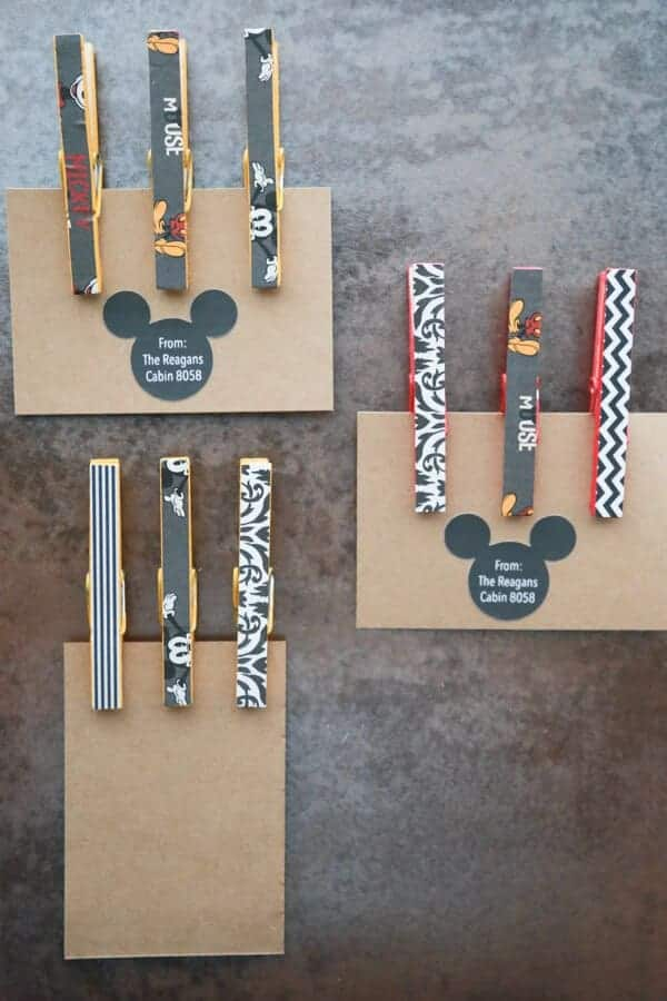 Mickey Mouse Clothespin Magnets by Simply Being Mommy | Mickey Mouse Ideas that you are going to love!