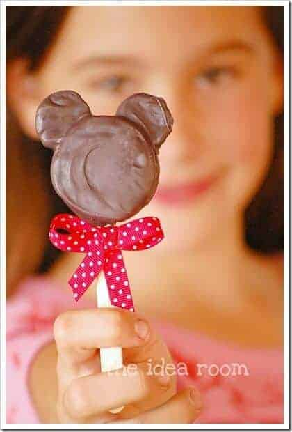 Mickey Mouse Oreo Pops by The Idea Room   Mickey Mouse Ideas that are so cute!
