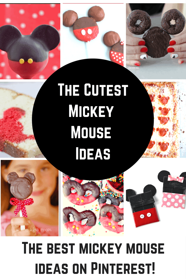 The Cutest Mickey Mouse Treats and DIY Ideas