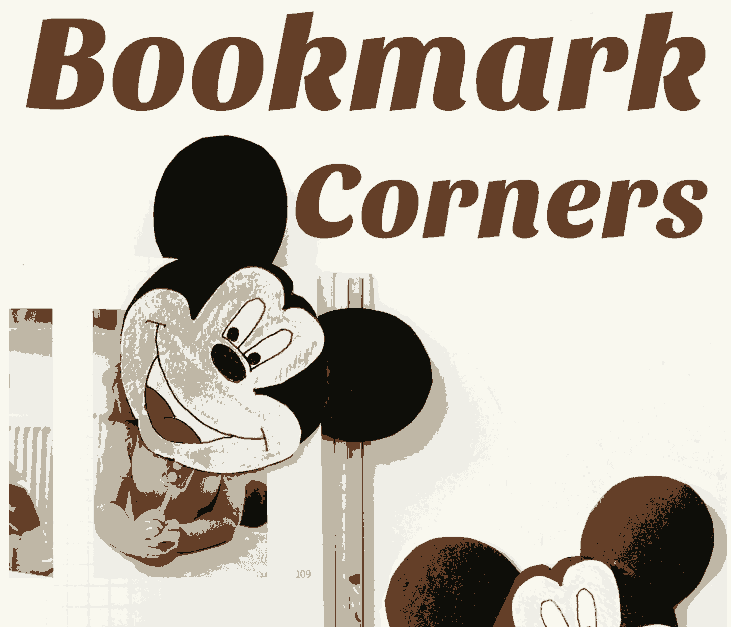 Mickey Mouse Corner Bookmarks by Red Ted Art | Mickey Mouse Ideas you are going to love!