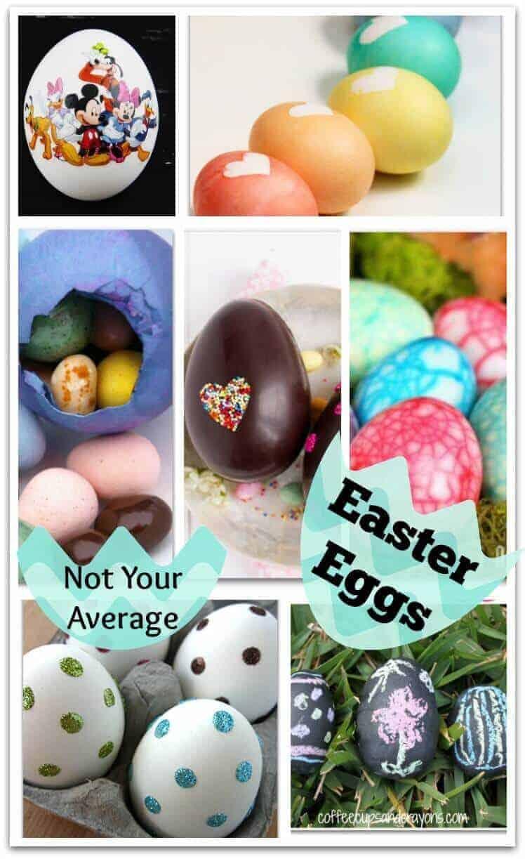 Not Your Average Easter Egg Ideas
