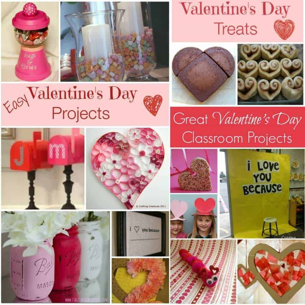 Top Pinned Valentine's Day Ideas – crafts, projects and treats!