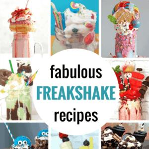 Freakshakes are a bigger, better creative version of the ordinary milkshake