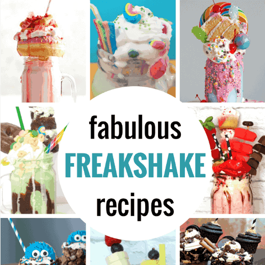 Freakshakes are the bigger, better, more, insanely creative version of the ordinary milkshake (think extreme milkshake. They are going to rock your world.