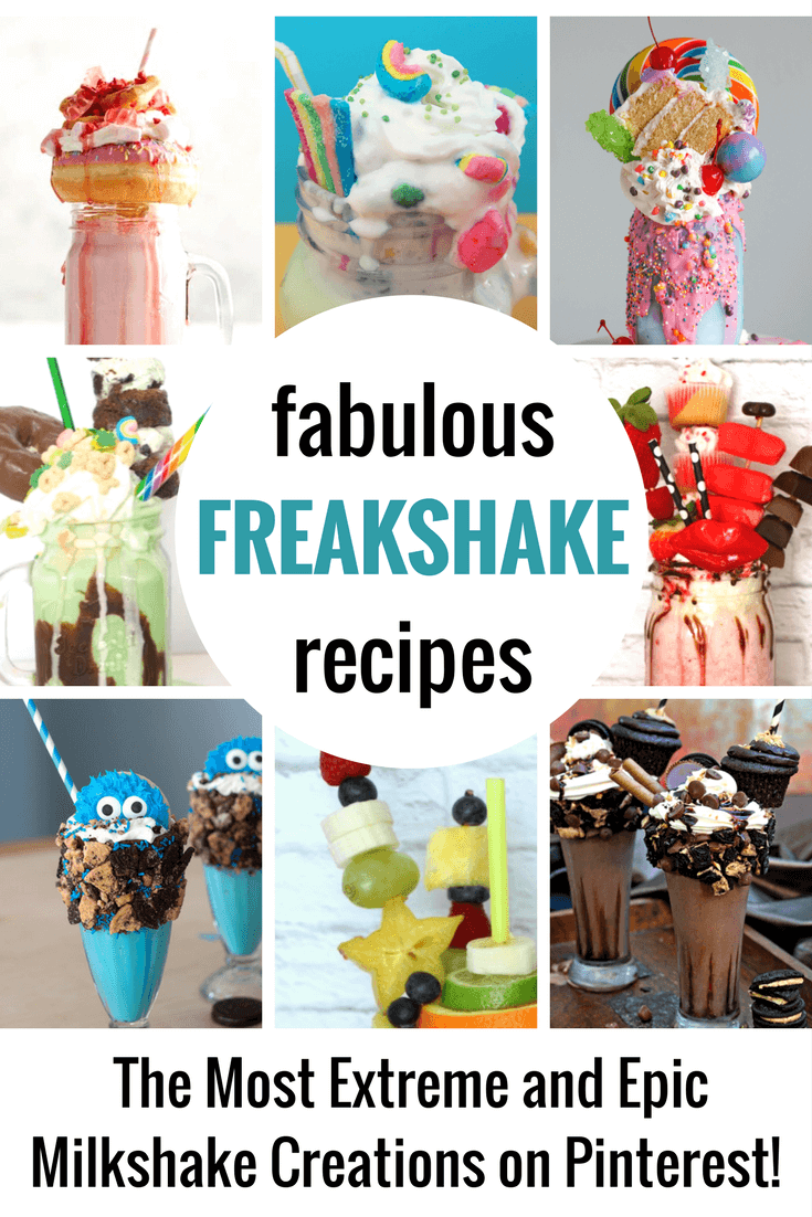 Freakshakes are the bigger, better, more, insanely creative version of the ordinary milkshake. They are going to rock your world.