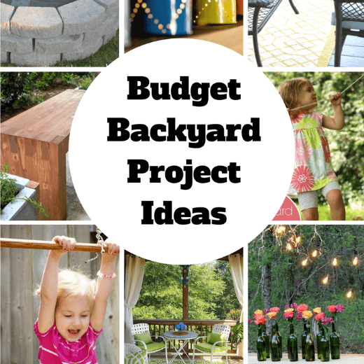 DIY Budget Backyard Ideas and projects
