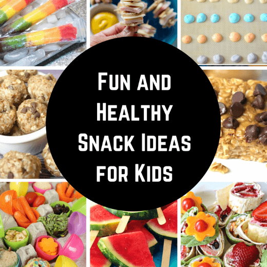 Fun and Healthy Kids Snacks – Great After School Snacks!