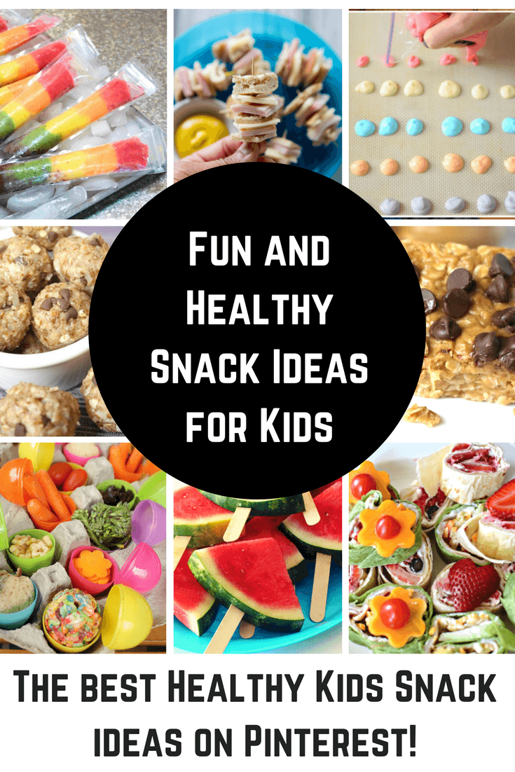 Fun and Healthy Kids Snacks Ideas