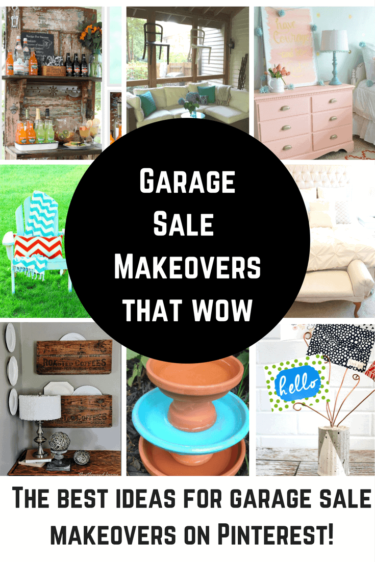 Garage Sale Makeovers that Wow!