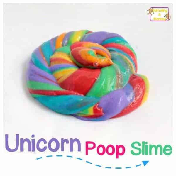 Unicorn Poop Slime by Schooling a Monkey | Whimsical DIY Unicorn Ideas