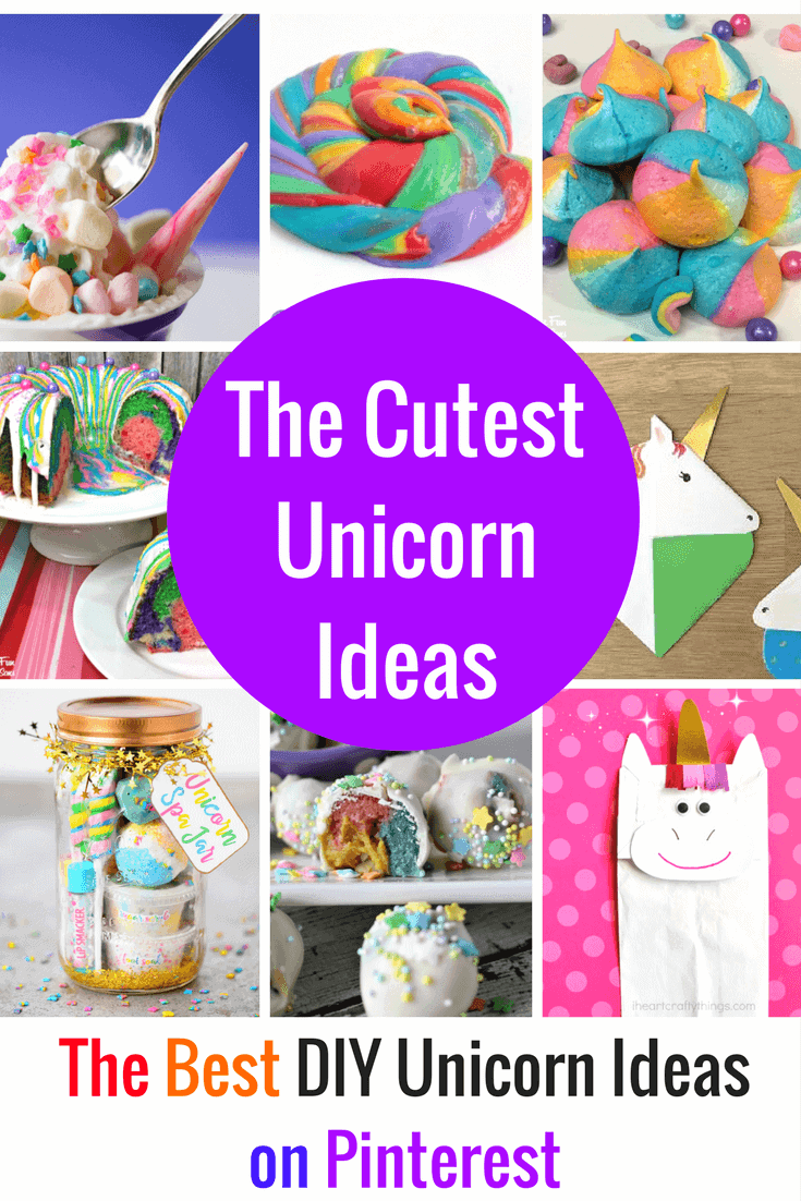 Whimsical DIY Unicorn Ideas