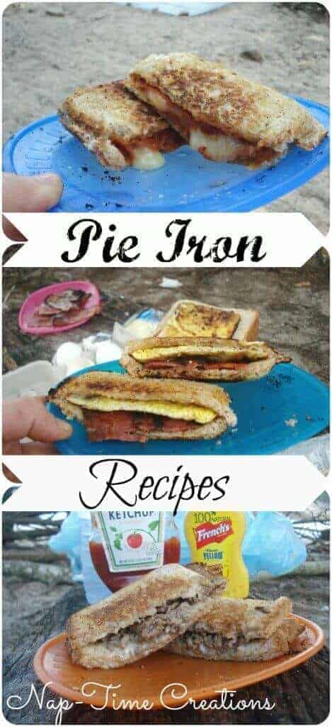 Cheeseburger Pie Iron Recipe from Life Sew Savory   Amazingly Delicious Camping Recipes