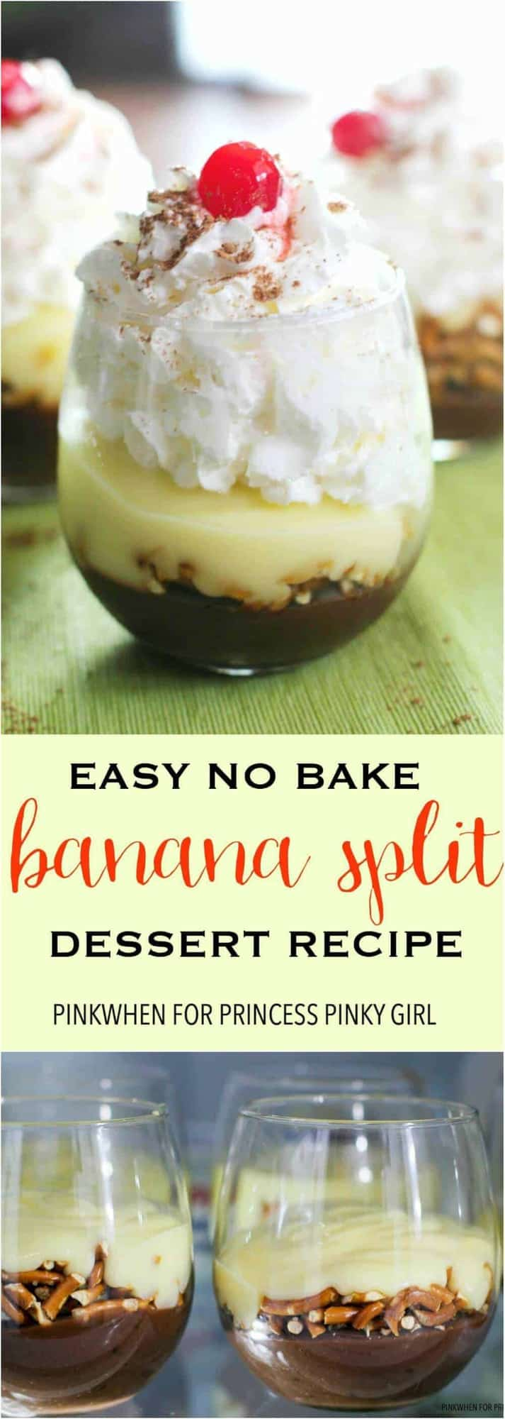 This Easy Banana Split Dessert recipe is the perfect Summer no bake dessert recipe of the year.