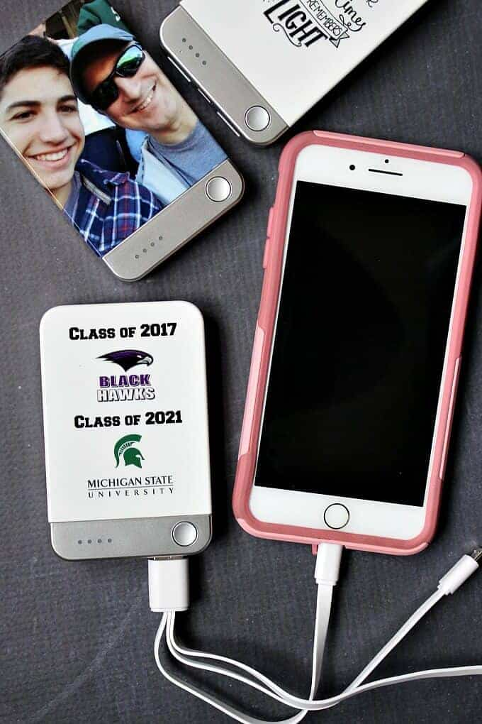 Graduation Gift - mobile portable chargers