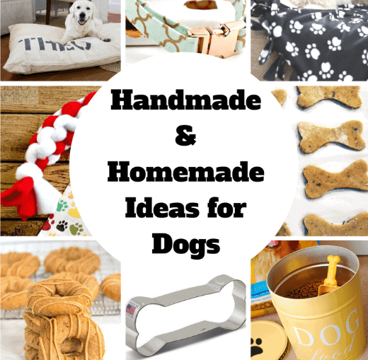 DIY Dog Project Ideas and Treats for your Favorite Pup - these homemade dog treats will have your pooch wagging their tails!