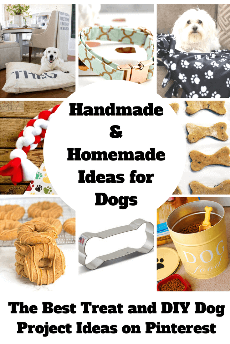 Handmade Dog Ideas and Homemade Dog Treat Recipes | Princess Pinky Girl