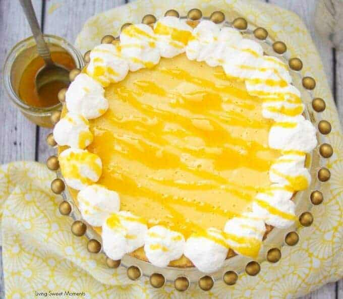 Intant Pot Passion Fruit Pie by Living Sweet Moments