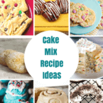 These are the best cake mix recipes on Pinterest! They are all so quick, so easy and so delicious!