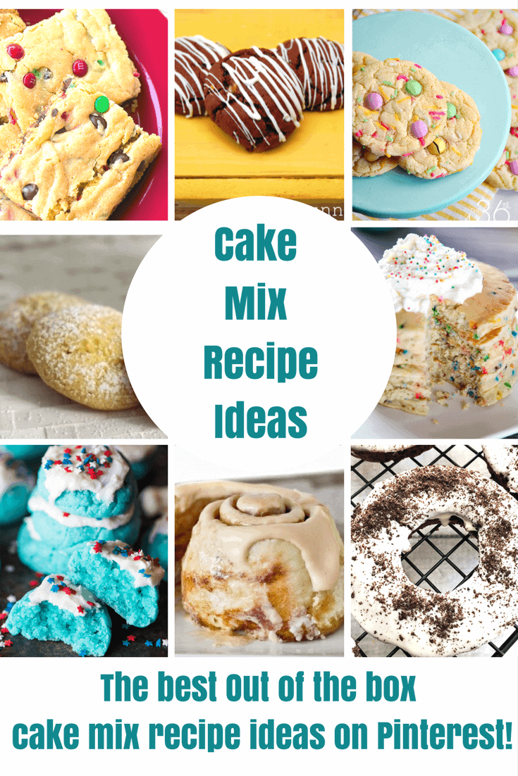 Cake Mix Hacks are super easy and always delicious! Take a box of cake mix and turn it into a recipe masterpiece! Make a cake mix into a homemade dessert!