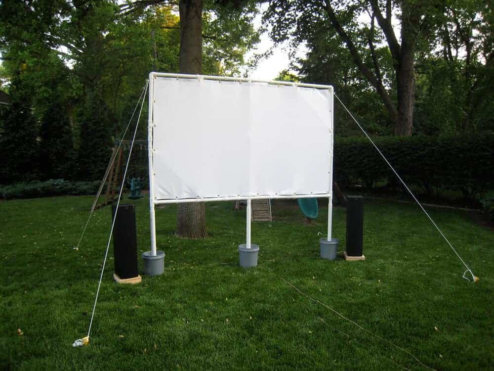 Backyard Theater Ideas how to make your own backyard movie theater & the best summer movies