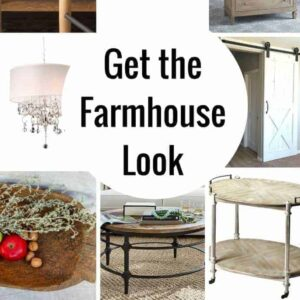 Farmhouse Decor for the Fixer Upper Look