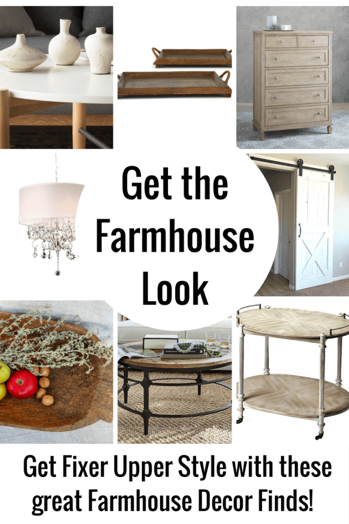 Farmhouse Decor is so popular right now! Reclaimed wood, beamed ceilings, warm fireplaces - rustic, minimal and cozy - I can't get enough!